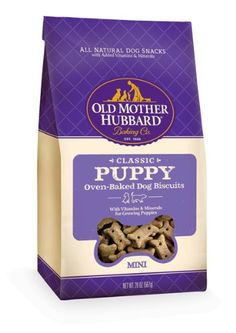 Old Mother Hubbard Crunchy Classic Snacks for Dogs, Mini, Puppy, 20-Ounce Bag for only $5.99 You save: $5.17 (46%) + Free Shipping