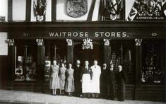 Since opening its first store in Acton in 1904, Waitrose has grown into a supermarket chain with 284 shops across Britain and a 4.5pc share of the UK grocery market.