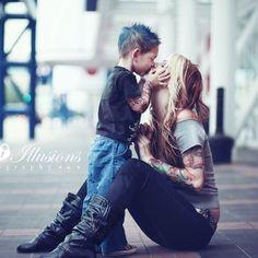 I love a mama's boy!