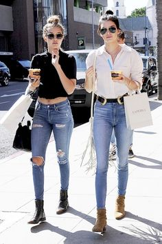 What Kendall Jenner and Gigi Hadid Wear To Get Frozen Yogurt | Le Fashion | Bloglovin'