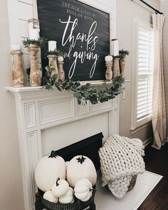 fall home decor Home She Gave It A Go Fall Home Decor, Autumn Home, Farmhouse Homes, Farmhouse Decor, Farmhouse Style, Mantel Styling, Seasonal Decor, Holiday Decor, Autumn Decorations