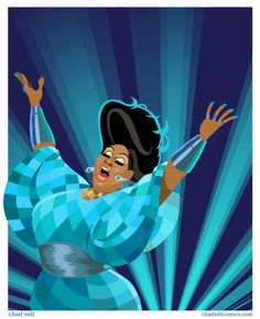 Latrice Royale Show Business by ChadSellComics on Etsy, $10.00