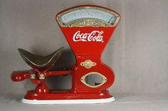 Antique Coca Cola Toledo Candy Store Scale