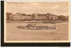 504. Germany, Biebrich a. Rhein - Schloss - passed Biebrich post in 1912 - Georg Schmidt, papierhandlung