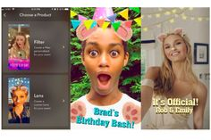 You can now create your own custom face lenses on Snapchat