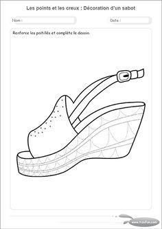 Extrem Exercices Maternelle motricité fine par le dessin a imprimer  NU57