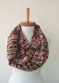 Hey, I found this really awesome Etsy listing at https://www.etsy.com/listing/201552388/aztec-tribal-scarf-boho-scarf-orange