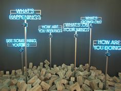 Neon at the Art Stage Singapore 2014 by Artitute Art, via Flickr