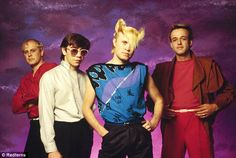 Listen to music from A Flock of Seagulls like I Ran (So Far Away), Space Age Love Song & more. Find the latest tracks, albums, and images from A Flock of Seagulls. New Wave Music, I Love Music, Pop Music, 80s Musik, So Far Away, Timberwolf, One Hit Wonder, Cover Songs, Post Punk