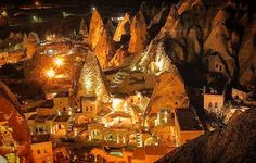 Cappadocia nights by Ravi on 500px