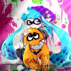 Splatoon by kiralara95.deviantart.com on @DeviantArt