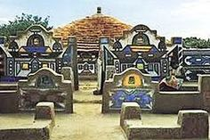 Experience the Botshabelo Mission Station & Ndebele Historical Village - a South African Heritage Site, dating back to the Out Of Africa, West Africa, North Africa, Vernacular Architecture, Heritage Site, African Art, Abstract Pattern, Traditional Art, Great Places