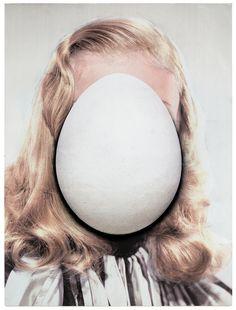 Urs Fischer - egg portraits