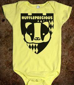 I wonder if she'll be a Hufflepuff kind of gal like her mama :D
