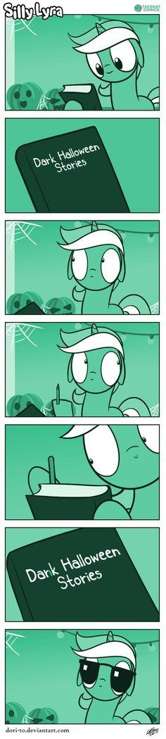 Silly Lyra - Hello Darkness by Dori-to