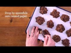 3-Minute No-Bake Cookies - Recipe | QuakerOats.com