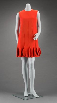 Pierre Cardin dress ca. 1968 via The Museum of Fine Arts, Boston