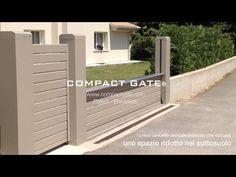 """COMPACT GATE® Patent - Brevettato """"cancelli automatici per edilizia innovativa"""" - YouTube"""