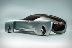 The Rolls-Royce Vision Concept Car Can Customize to the User's Needs