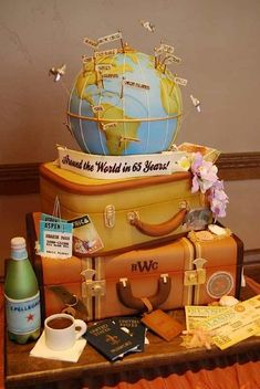 Cake Wrecks - Sunday Sweets Gets On The Map - Everything in this post is unbelievably GORGEOUS.