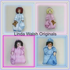 It's Raining Baby Showers: Linda's How-Do-I Series? How To Make Our Baby Nicky and It's A Boy! It's A Girl! Centerpiece Dolls Cut and Sew Favor Ornaments Free E-Book
