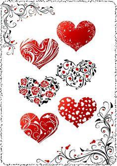 imagenes vectorizadas de corazones - Buscar con Google