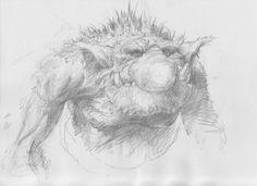 Cute Creatures, Fantasy Creatures, Goblin Art, Character Art, Character Design, Fantasy Monster, Matte Painting, Fantasy Rpg, Fantasy Landscape