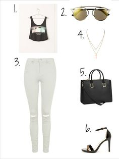 3 ways how to wear white jeans