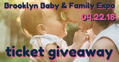 Enter to win a ticket to A Child Grow's 6th Annual Brooklyn Baby & Family Expo coming up on April 22 in Gowanus! With speakers, exhibitors, food, entertainment, and gift bags, it'll be fun for the whole family!!