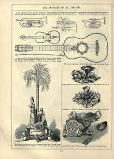 1851 - The Art journal illustrated catalogue, the industry of all nations. Published in London.