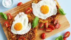 Grønnsaksrøsti med egg