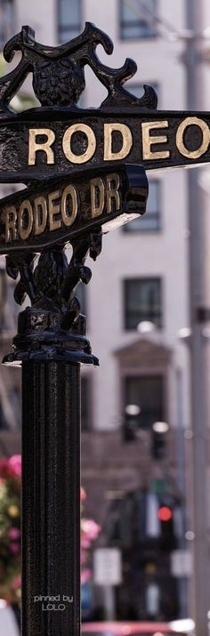 ⭐️ Beverly Hills Bi$ch  {I shop on Rodeo Drive for cardio}  ⭐️ Rodeo via Beverly Wilshire