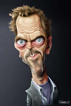 Ricardo Galvao Caricatures by AAReps , via Behance