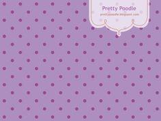 Polca Dots Pattern { Purple }  http://prettypoodle.blogspot.jp/2010/10/dot-autumn-color.html