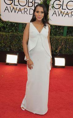 Golden Globe Awards 2014 - Kerry Washington in Balenciaga
