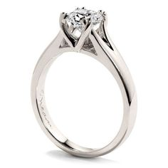 Hearts On Fire Seduction Platinum Diamond Solitaire Ring DD4074 from Beaverbrooks the Jewellers
