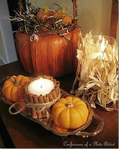 Fall Decorating Ideas Woodrail Dr#8 Autumn Decoration - she777.