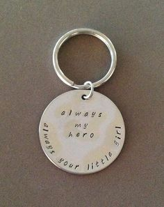 Father of the Bride gift  Hand stamped always my by DandLDesigns4U, $20.00