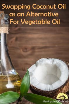Swapping Coconut Oil as an Alternative For Vegetable Oil 👍😊😲💖  Did you know that coconut oil is a healthier fat than vegetable oil? Click the link to find out more.   #coconutoil #vegetableoil #hearthealthy #processedseedoils #cottonseedoils  #cornoils #canolaoils #soybeanoils #sunfloweroils #saffloweroils #lauricacid #saturatedfat #metabolism #freeradicals  #immunesystem #killpathogens #skinmoisturizer #healthylivingdaily #followme #follow
