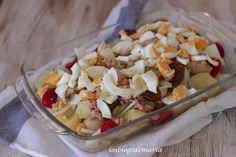 Patatas baby con cherrys variados