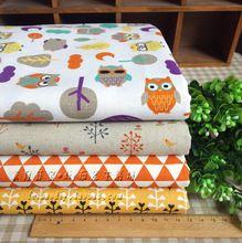 50 * 70 cm bonito algodão fat quarters bundle, 100% algodão para patchwork, De têxteis lar(China (Mainland))