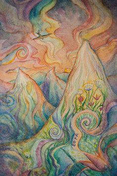 Faith watercolor painting by SailAwayArts on Etsy