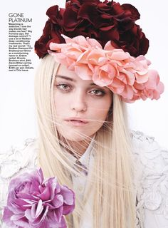 #SkyFerreira by #JoshOlins for #TeenVogue May 2014