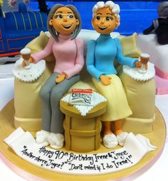 adorable granny baker cake Wendy Schultz via Sue Lassman onto