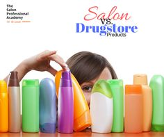 Ever wondered what the difference between drug store hair products vs salon products? Lucky you, we have answers! Get the scoop here --->> http://www.tspastlouis.com/blog/loreal-professional-makes-different/