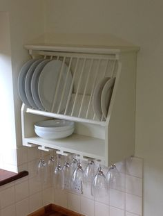 Free up cabinet space with this elegant yet versatile wall mounted ...
