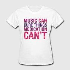 T Shirt featuring Meds lyrics