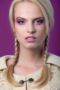 Pink Makeup made with lipstick - Nina Kohne #advisemystyle