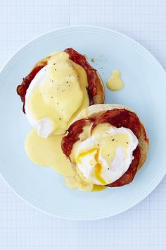 Toasted white butter muffins layered with Spanish chorizo, a fluffy poached egg and creamy Hollandaise sauce. Visit the Waitrose website for more delicious recipes.