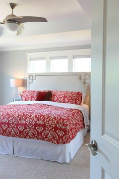 This master bedroom would be the best place to spend a lazy Sunday. Serene Bedroom, Master Bedroom, Vancouver, Custom Built Homes, Lazy Sunday, The Good Place, Comforters, Bedrooms, Blanket